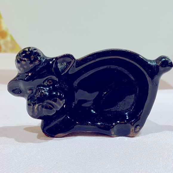 Vintage Ceramic Poodle dish